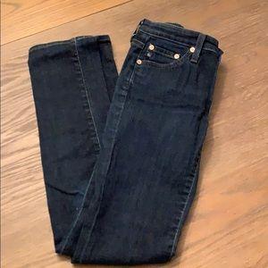 AG Stevie slim straight jeans